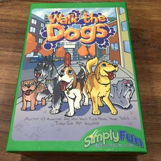 Board Game for kids Walk The Dog