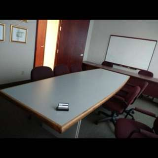 Board Room Table & Chairs