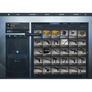 CSGO MG2 STEAM ACCOUNT