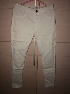 Cotton On celana panjang (jegging) putih