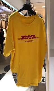 Vetements DHL long tee