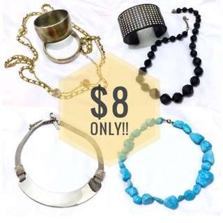CHEAP!! All $8 ONLY!✨