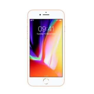Kredit Iphone 8 64Gb Gold Series New