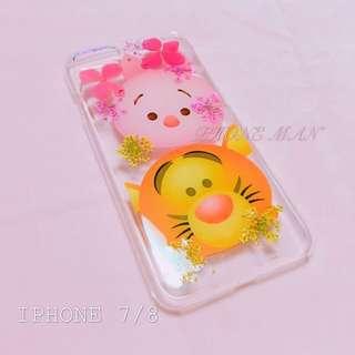 🈹特價 IPhone 7 iPhone 8 乾花殻 押花殻 包平郵