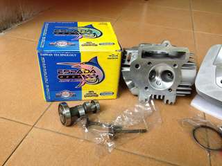 Racing Head Ex5 Dream Espada 23/27 With Racing Cam & Valve