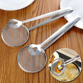 Kitchen Stainless Steel Cooking Tools Multi-Function Strainer With Clamp