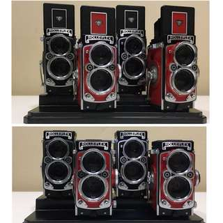 2Sets of Black & Red Rolleiflex MiniDigi AF5 *Rare*