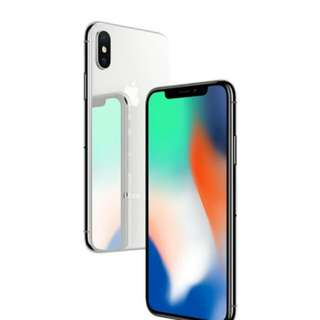 IPhone x 256gb Silver Garansi Internasional Kredit Tanpa CC