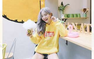 PO mfw Lazy sweater hoodie pullover ulzzang harajuku casual