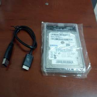 160 GB USB portable hd