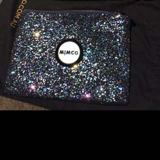 Mimco night sparksfly  pouch