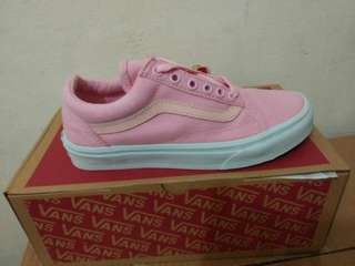 Vans Authentic pink&white