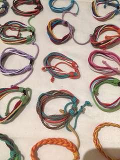 Cool String Bracelets 5 for $10