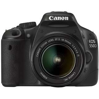 CANON EOS 550D DSLR CAMERA