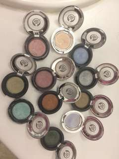 Body Shop Eye Shadows