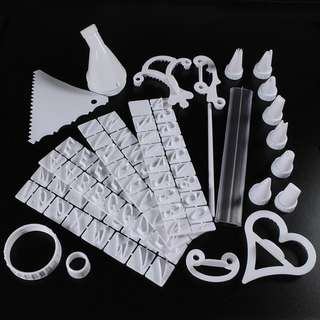 10025 - 100 Pieces Cake Decorating Set Box