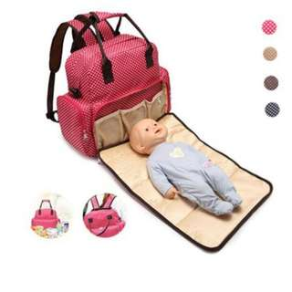 ❤ Multifunctional Baby Diaper / Mommy Nursing Bag