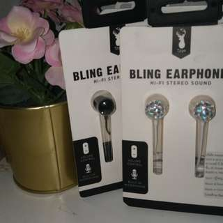 TYPO // Bling Earphone