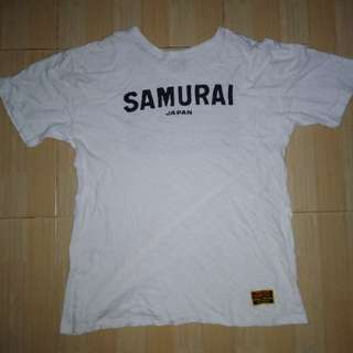 Kaos samurai made in japan size L