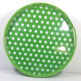 Present Time (Netherlands) 大圓托盆綠色Serving tray Multi dots Brand / Trade