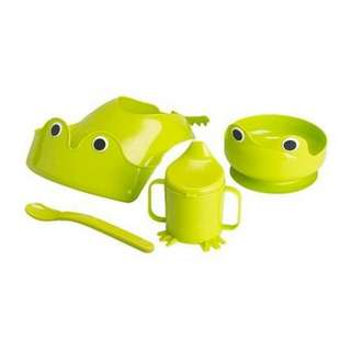 IKEA feeding set frog NEW