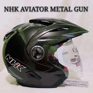 NHK AVIATOR METAL GUN HELMET..😎!!
