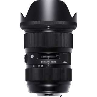 Sigma 24-35mm f/2 Art Nikon F Mount