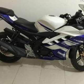 Yamaha R15 2014 Biru Putih