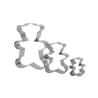 10030 - Cookie Cutter Bear Shaped 3's