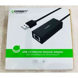 (DELIVERY) USB 2.0 Ethernet Network Adapter