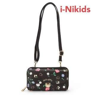 🇯🇵日本直送 - 原裝日版 Sanrio - Hello Kitty 凱蒂貓銀包連斜孭袋