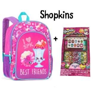 NWT Girls Shopkins 2Piece set