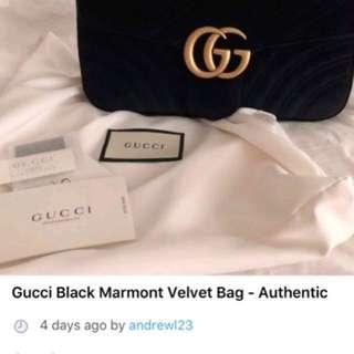 Gucci Marmont SCAM