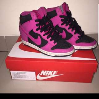 NIKE WEDGES DUNK CHERRY SIZE 38