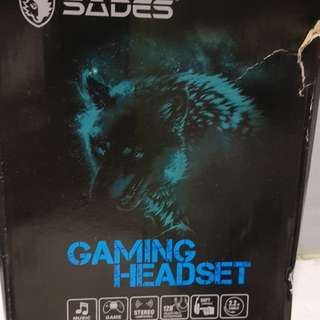 SADES Gaming headset