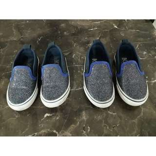 COTTON ON  Unisex shoes Size 8 and  9 - Sparkle Blue