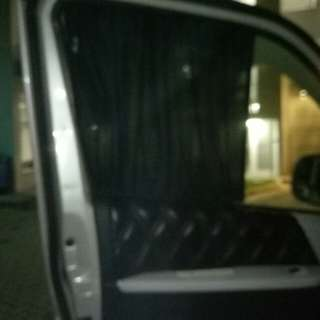 Curtain for hiace