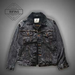 Jaket Jeans Denim - Darkstone Washing Jacket