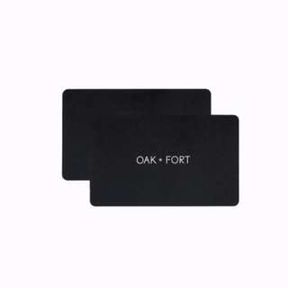 OAK & FORT GIFTCARD