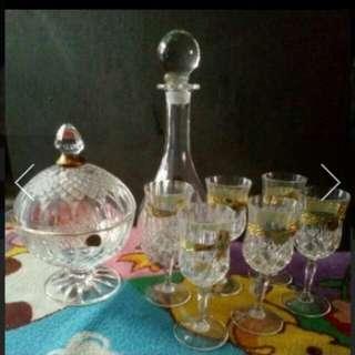 Set kristal made france