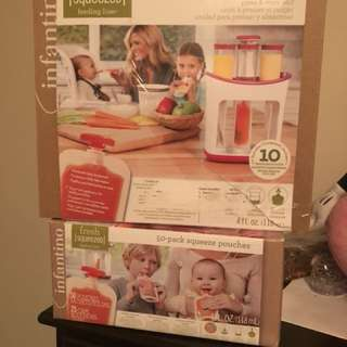 Infantino Feeding Set