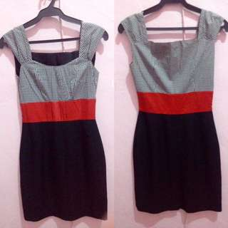Pencil cut dress