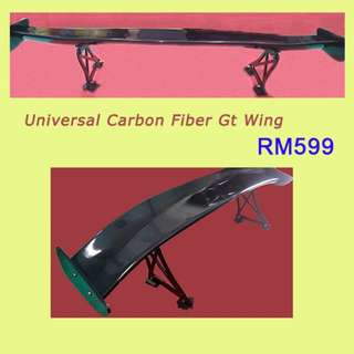 Universal Carbon Fiber Gt Wing
