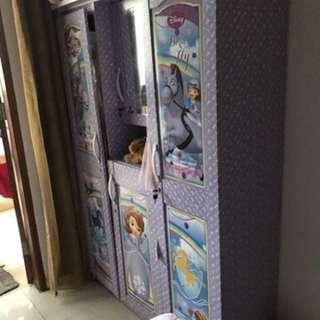 Set kamar meja belajar lemari anak