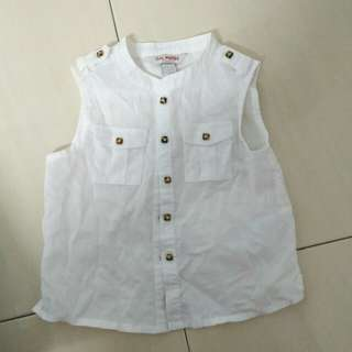 Baby Poney Sleeveless Shirt