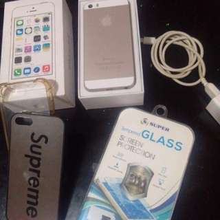 IPHONE 5s 32GB WITH NEW (GPPLTE CHIP)