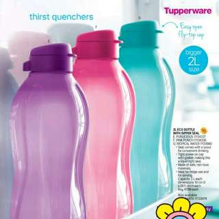Buy two 2L Eco Bottle (colors: as seen on the picture)