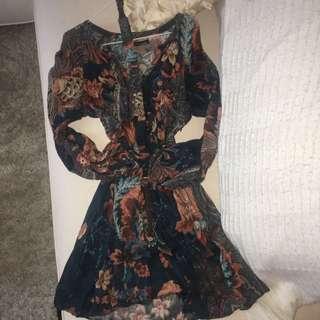 S Zara Boho Dress