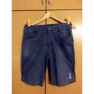 ATJ Blue Navy Denim Short Pants