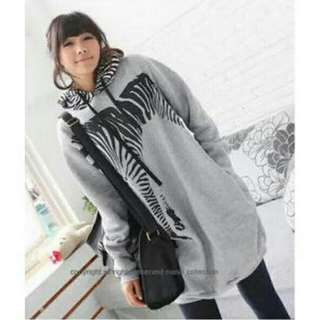 Zebra Hoddie Jacket